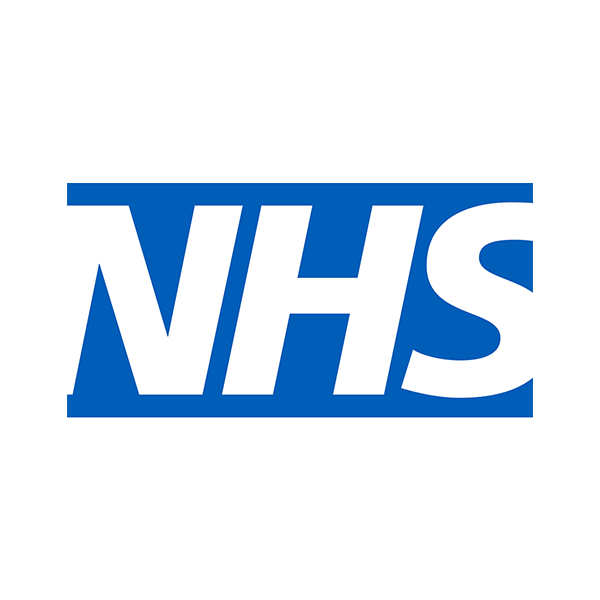 logo for the National Health Service (NHS) - one of our clients using temporary structures from us